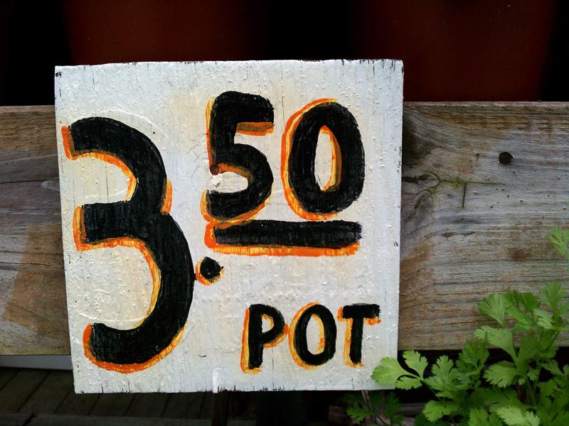 3.50 pot